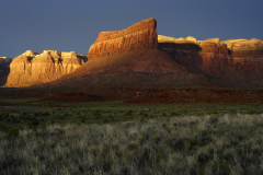 Buttes At Last Light