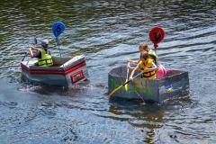 Cardboard Boat Racers