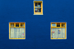 Side Street Windows Galway Ireland