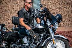 """Ed Witko Ride"" Biker"