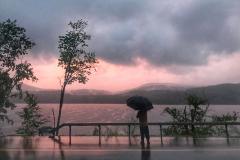 Rainy Sunset