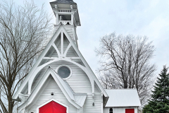 Church With Red Doors