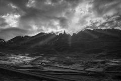 Icelandic Village Beneath The Rays