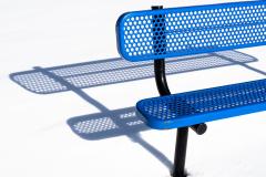 Blue Bench Shadow
