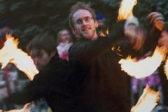 A Fiery Performance