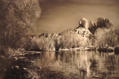 Oak Creek And Cathedral Rock