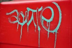 Toothpaste Grafitti