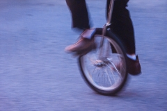 Unicycle In Motion