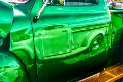 Three Green Trucks