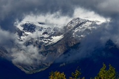 Cloud Covered Tetons