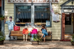 Gossip At Doug's Fish Fry