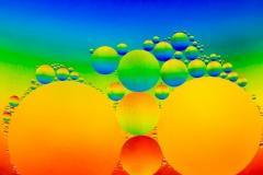 Rainbow Oil Drops