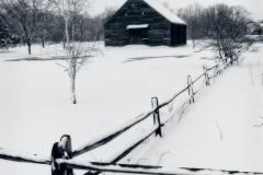 The Temp Barn in Winter