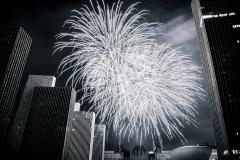 Fireworks Over Empire Plaza