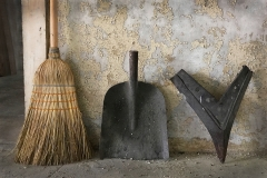 Broom, Shovel and Whatever That V Thing Is