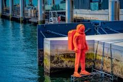 Orange Invader