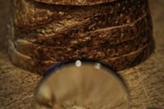 Close Up Crusty Crunbs