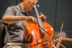 Yoyo Ma in Rehearsal