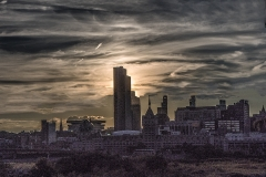 Albany Skyline Sunset
