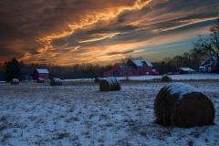 Twilight At The Farm
