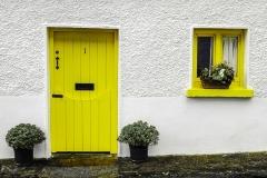 White Yellow Irish Home