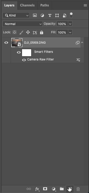 make a smart object in photoshop