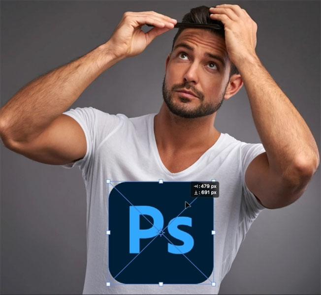 adding image to photo in photoshop