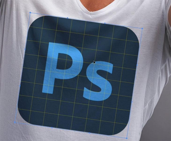 make image look like its on a shirt