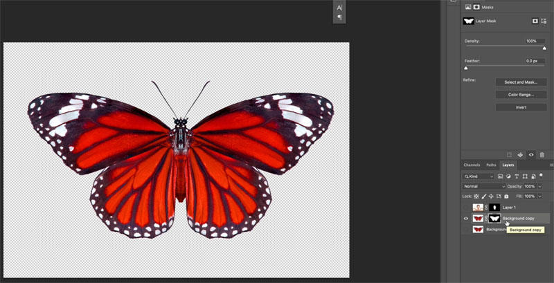 combinging images in photoshop