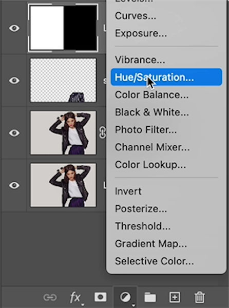 change white to colour in photoshop